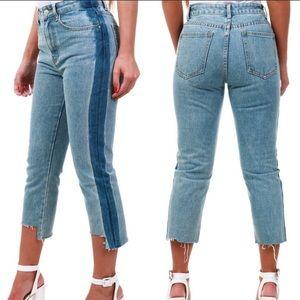 Nasty Gal Momokrom High Waisted Jeans